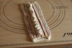 桜あんとクリームチーズのセミハードパン
