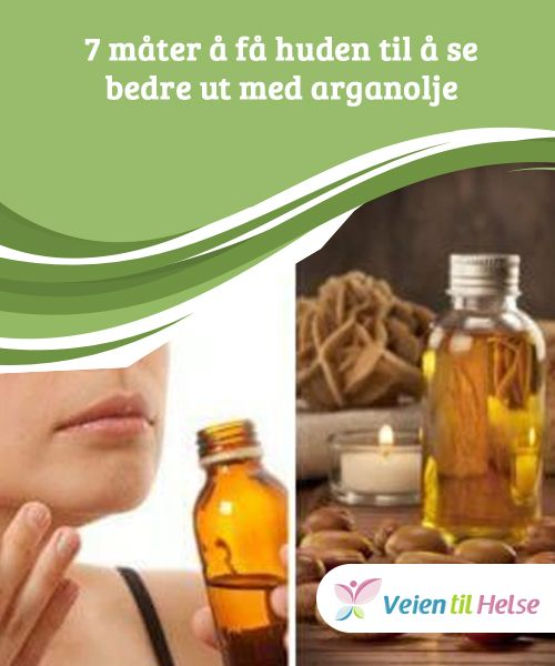 7 måter å få huden til å se bedre ut med arganolje  Arganolje har #antibakterielle og anti-inflammatoriske #egenskaper som er svært #effektive for å bekjempe akne. Det balanserer også #produksjonen av olje og renser porene dine.
