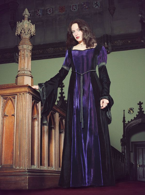 Christina Dress - Gothic, romantic, steampunk clothing from The Dark Angel