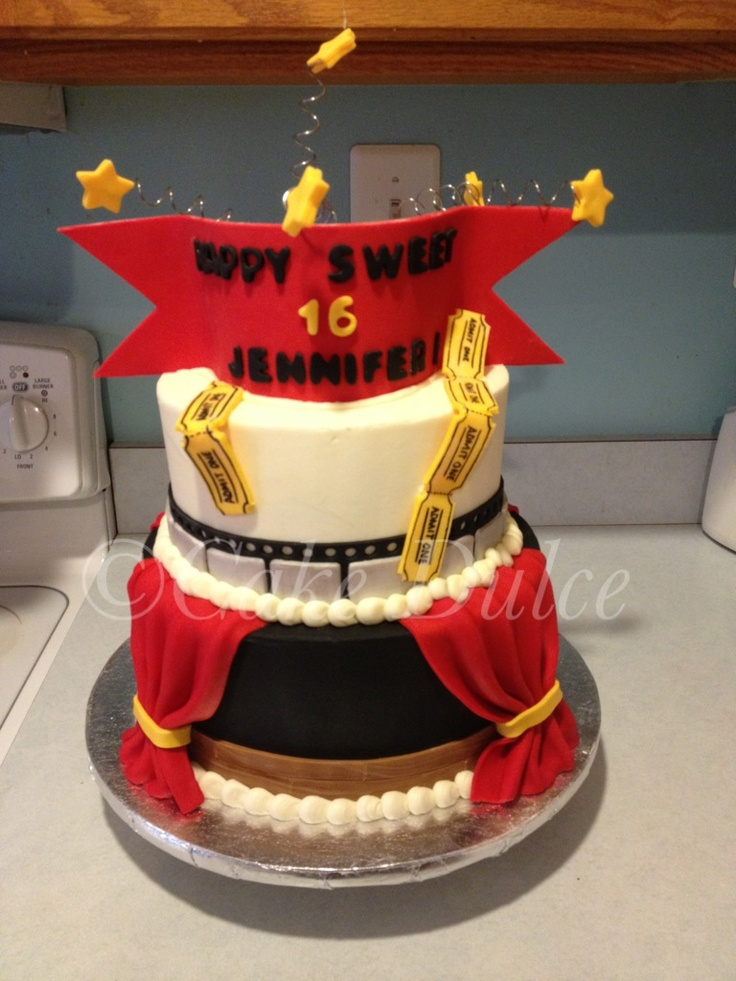 75 Best Images About Theater Cakes On Pinterest Movie