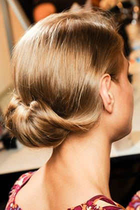 French Twist + Chignon