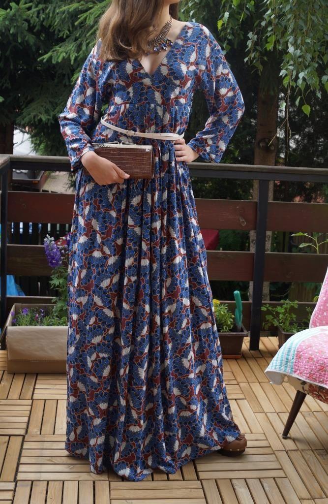 Cold viskose, boho dress by Puffka&Sue