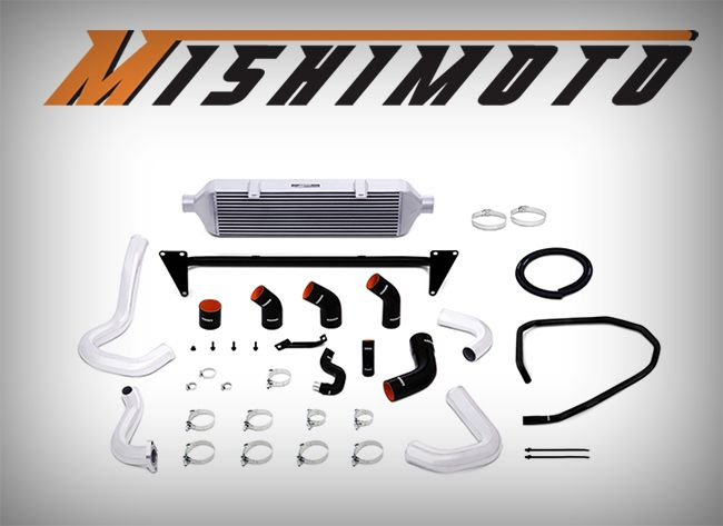 New: Mishimoto Front Mount Intercooler Kit for '15+ Subaru WRX