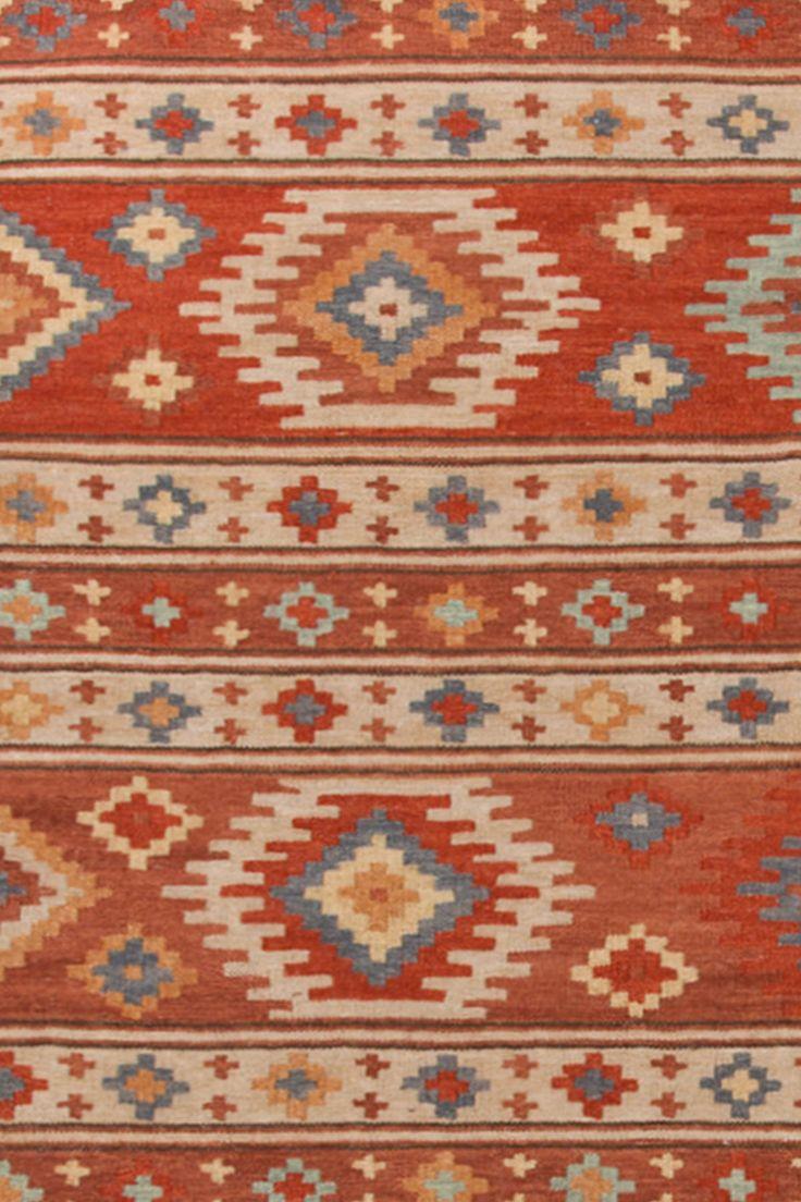 Canyon Kilim Woven Rug The Den Wool And Hallways