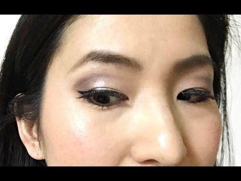 ブラウン カットクリース メイク★Brown Cut crease makeup for hooded eyes
