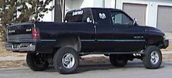 "1999 Dodge ram sport quad cab:7 sky jacker suspension lift kit 3  | 1999 Dodge Ram 1500 Sport Quad Cab; 7"" Skyjacker suspension lift kit ..."