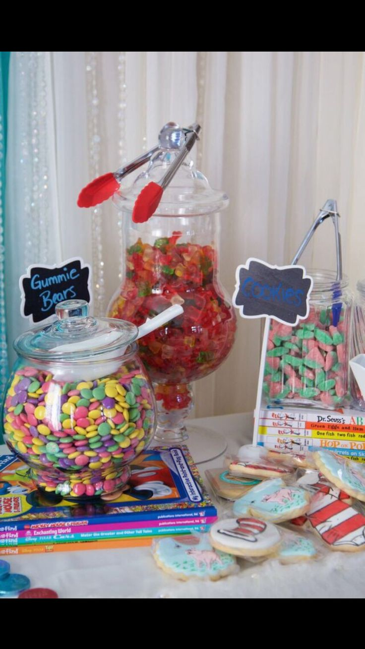 Unisex Baby Shower Sweetable candies Storybook Theme