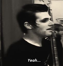 My Chemical Romance | Mikey Way | The Black Parade | Yeah...