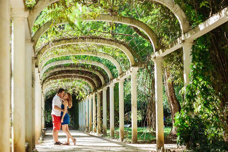 Ensaio pré Casamento Rio de Janeiro RJ Jardim Botânico