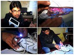 Ricarica le batterie del cellulare… coi piedi! Giovane indiano inventa le scarpe per ricaricare il cellulare! Qui: http://tormenti.altervista.org/ricarica-batterie-del-cellulare-coi-piedi/