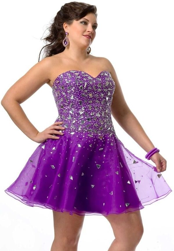 1000  ideas about Plus Size Homecoming Dresses on Pinterest | One ...