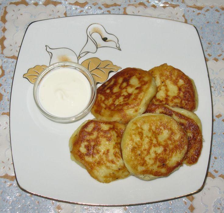Оладьи из картофельного пюре