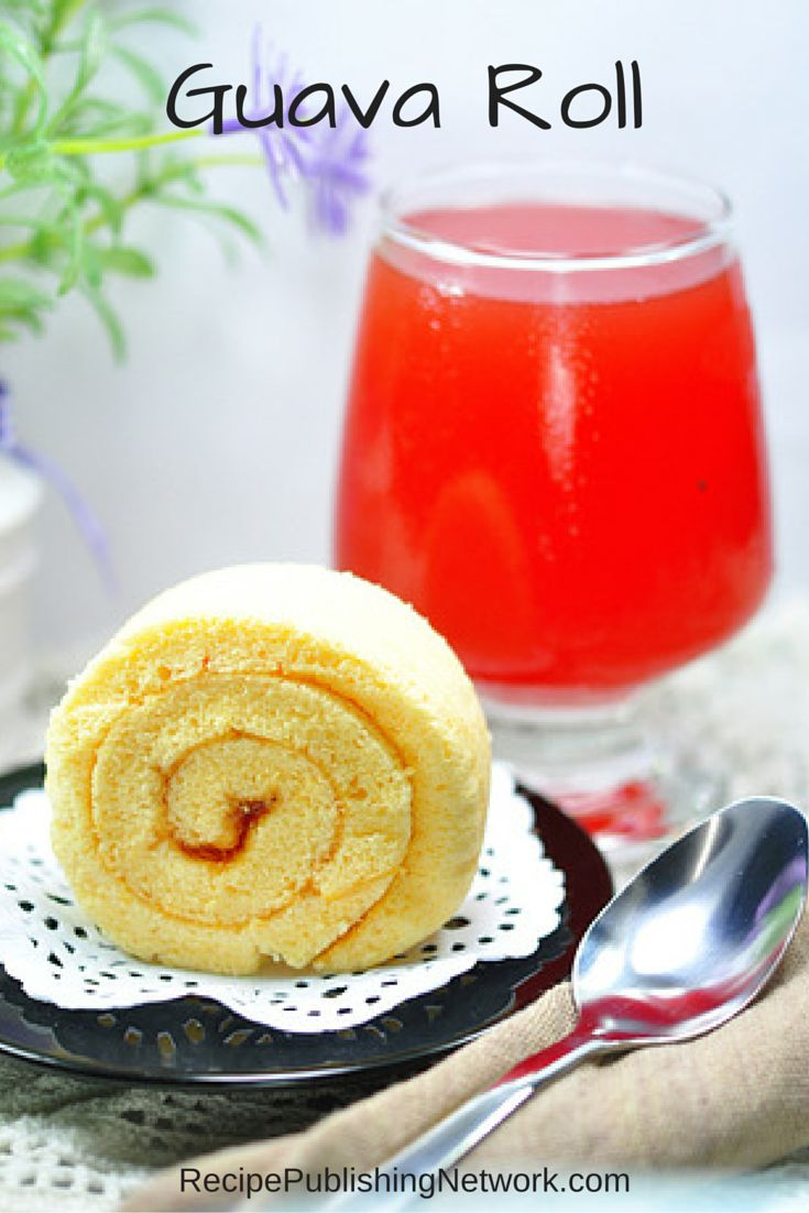 Guava preserves are the unusual twist used in this tasty cake roll recipe. This is a simple dessert recipe to make and everyone will love the tropical flavor.