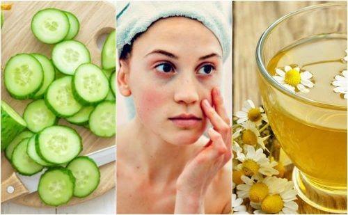 Las bolsas y ojeras hacen que nuestro rostro luzca cansado y envejecido. Descubre 5 ingredientes que te ayudan a reducir su aspecto de forma natural.