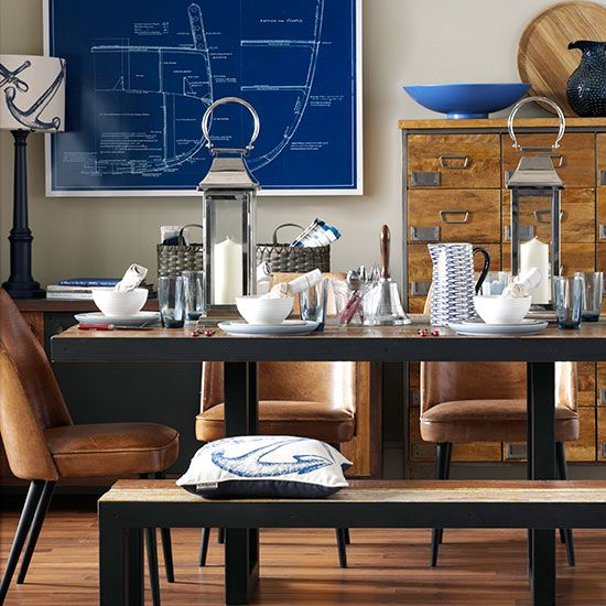 The 25+ best Nautical dining room furniture ideas on Pinterest ...