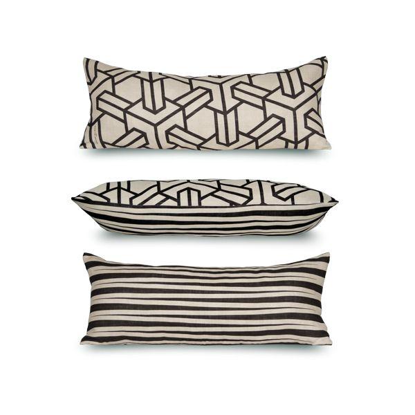 Anvers-Brighton Cushion By Rouge Du Rhin Design: Marianne Diemer