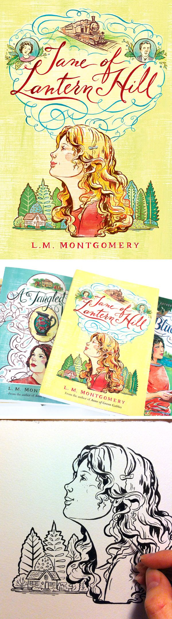 Illustrated Book Cover Photos ~ Best images about illustrated book covers on pinterest