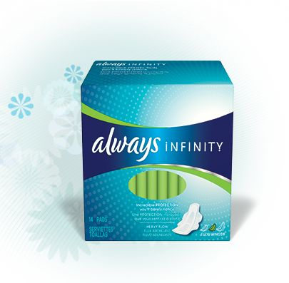 Always Infinity Pad Review http://www.theperiodblog.com/reviews/always-infinity-pads-review/
