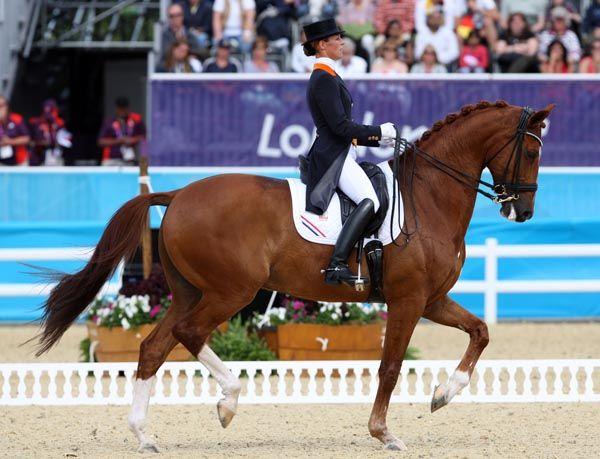 Adelinde Cornelissen - Parzival #OS2012 Dutch Team Dressage - Bronze Medal