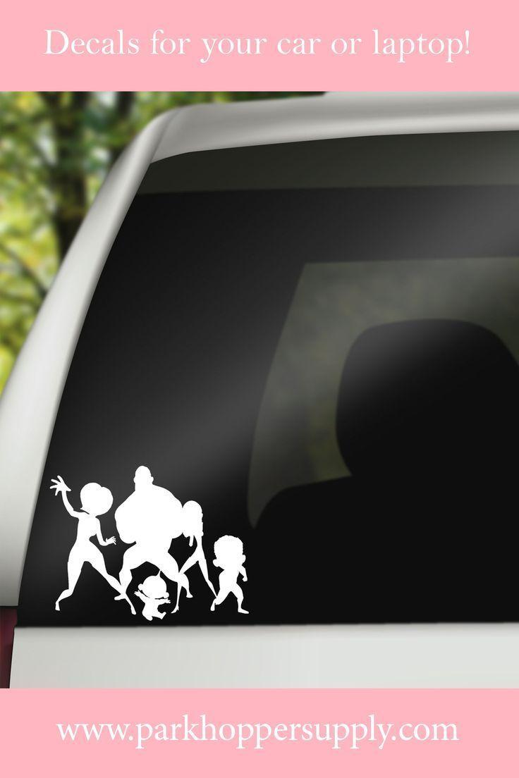 Incredibles Family Car Decal Disney Car Decals Family Car Decals Family Decals [ 1104 x 736 Pixel ]