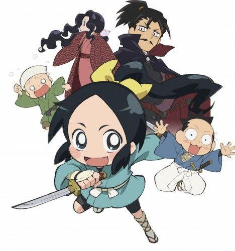 Ниндзя Нобунаги / Nobunaga no Shinobi [TV] [01-02 из 12] (2016) HDTVRip 720p   DeadLine Studio