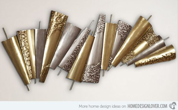 Contemporary Metal Sculptures | 15 Modern and Contemporary Abstract Metal Wall Art Sculptures | Home ...
