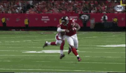 This beautiful interception: | 24 GIFs That Prove Absolutely Anything Can Happen In Sports