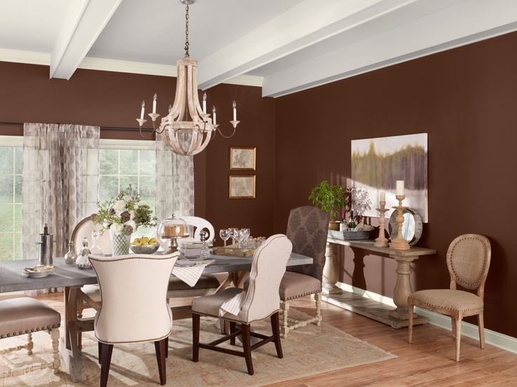 A Beautiful Dining Room Done In All Color Stories Will Be Sure To Draw Compliments