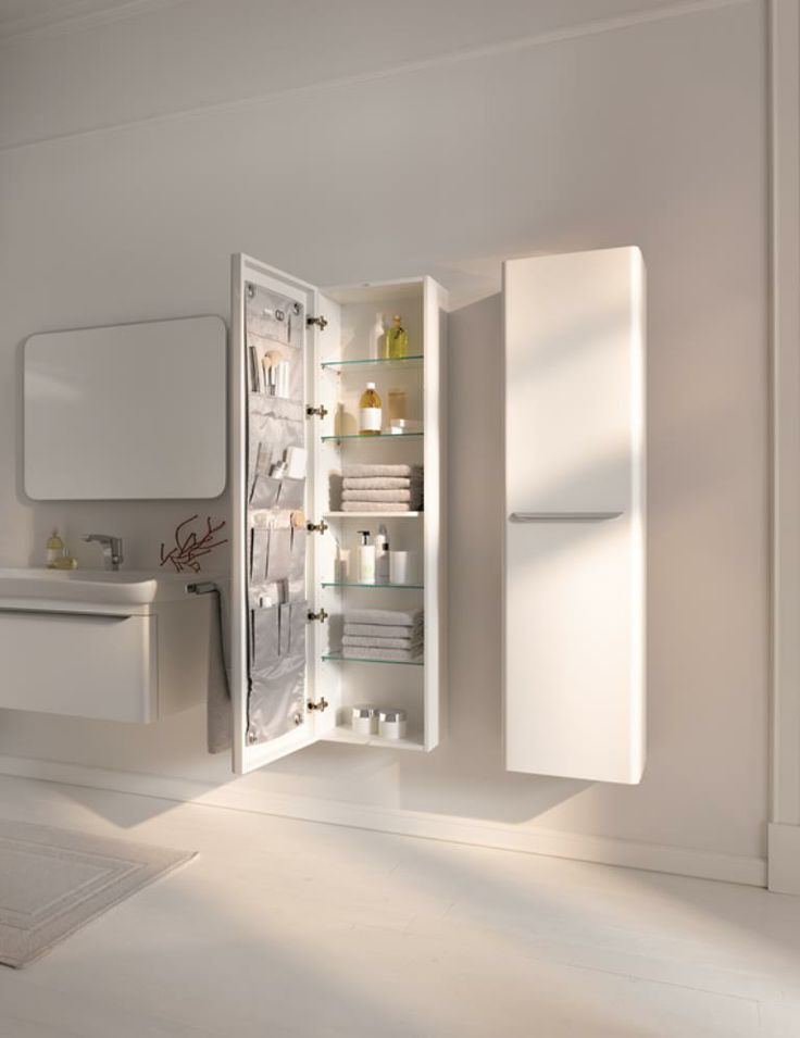 W szufladach, szafkach i na półkach – organizacja w łazience - Artykuły