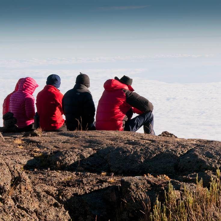 Climb Kilimanjaro with a group of similar individuals