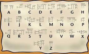 Esta es la escritura sumeria