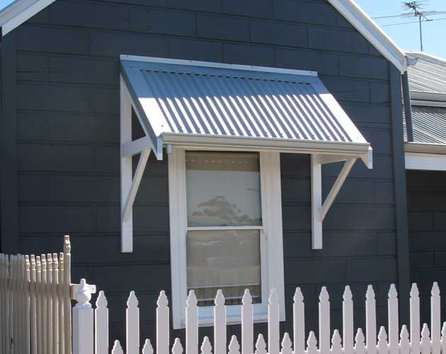 dreaming of our non-existent shack - colour scheme. Timber Awnings Perth, Traditional Awnings, Federation Awnings | Awning Republic Perth