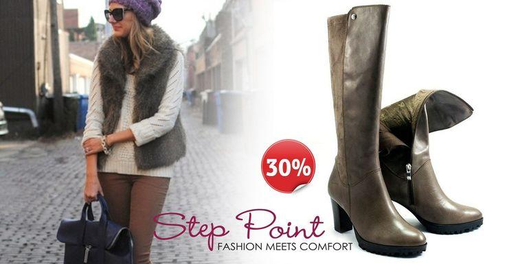 Μπότες Leyna Τώρα -30% <3 <3 <3  http://www.step-point.gr/mpotes-leyna.html