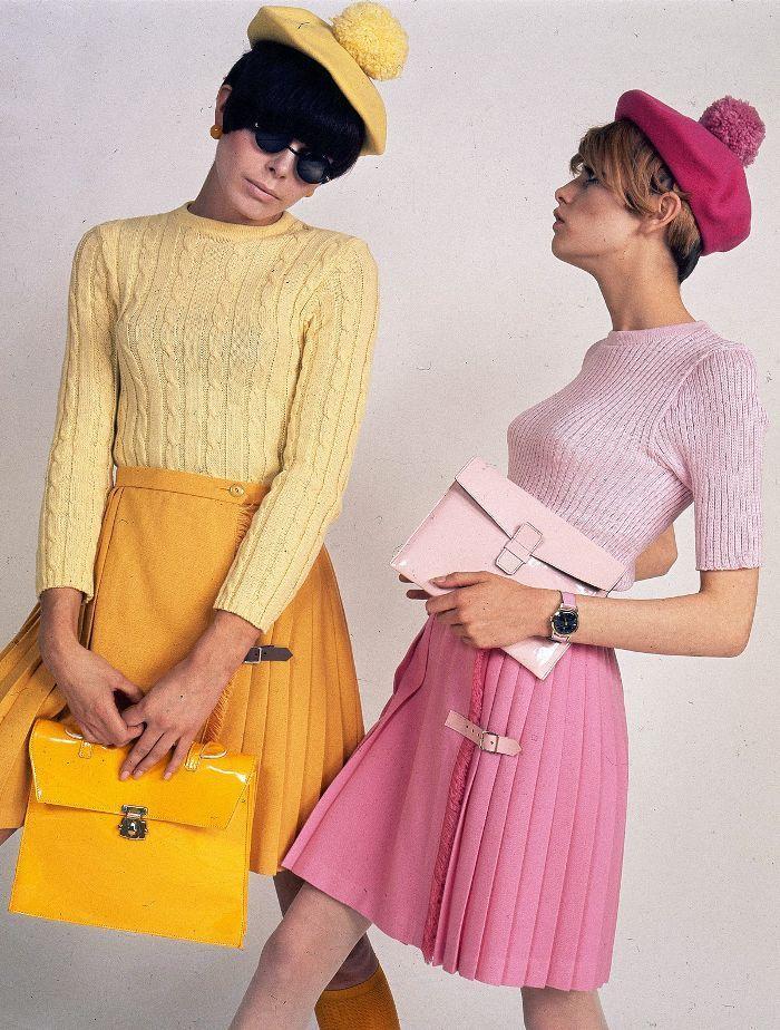 Die Bahnbrechenden Modetrends Der 60er Jahre Die Wir Bis Heute