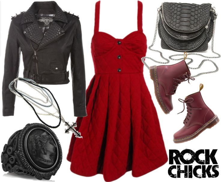 rock outfits tumblr - Google Search