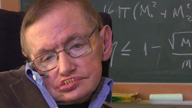 Stephen Hawking on death, disability, and humour