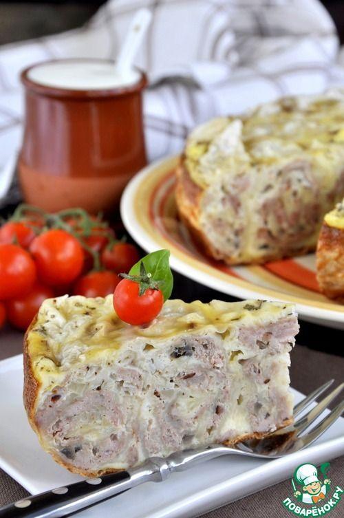 Быстрый мясной пирог в мультиварке - кулинарный рецепт