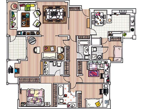 173 best images about planos de casa on pinterest house for Planos casas sims