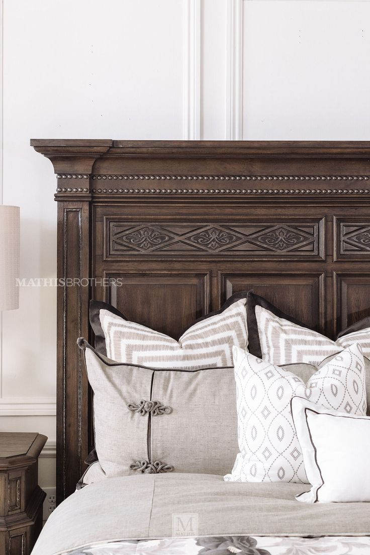 """72"""" NailheadAccented Storage Bed in Truffle Mathis"""