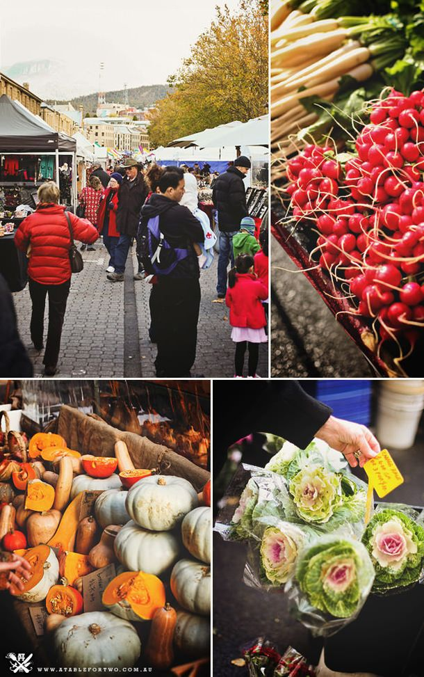 No trip to Hobart is complete without a trip to Salamanca Market #salamanca #hobart #market #tasmania #discovertasmania Image Credit: Billy Law