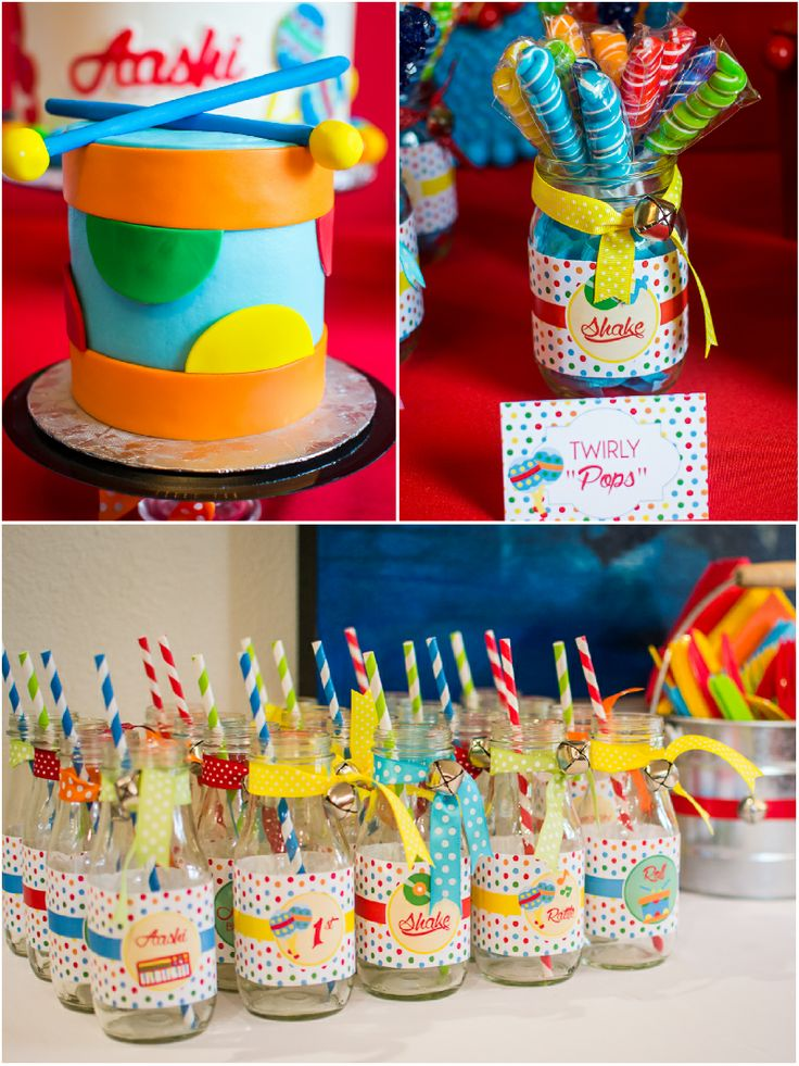Music inspired birthday party ideas with lots of DIY details and decorations