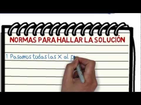 Cómo resolver ecuaciones de primer grado (Concepto, elemento y práctica) - YouTubehttps://www.youtube.com/watch?v=DbKnxy-BHwQ