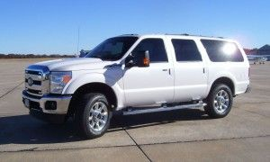 2015 Ford Excursion concept