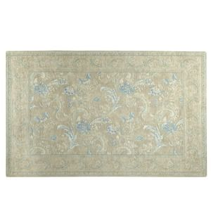 Baroque Cotton and Wool Rug