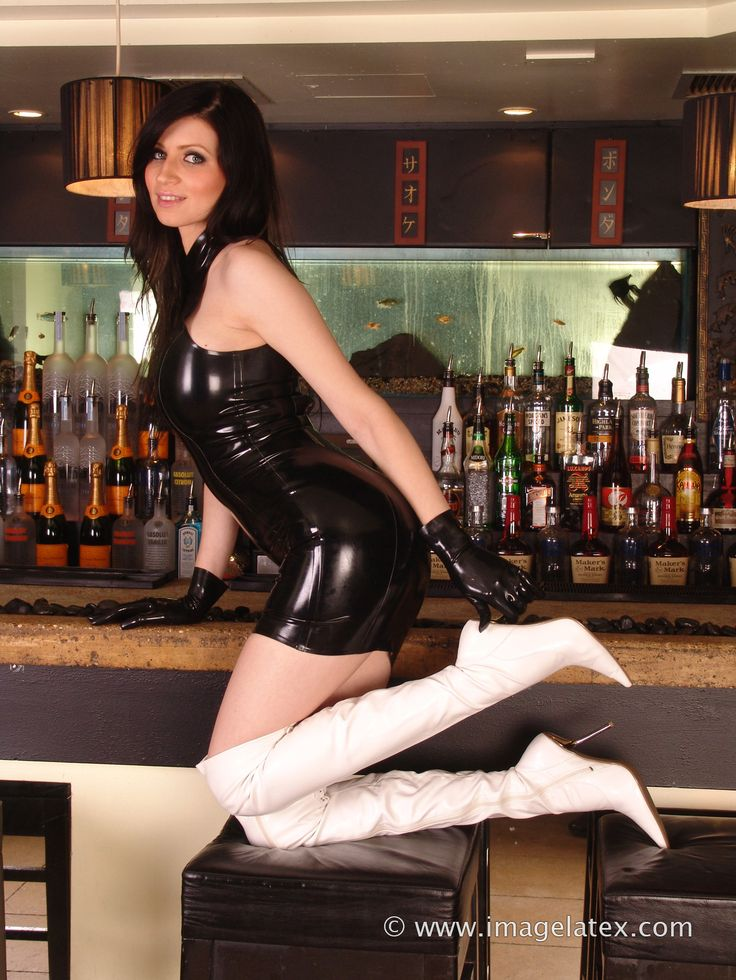 Pin On Girls In Latex And Rubber Dresses
