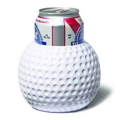 guiness koozie | Golf Ball Foam Beer Koozie - corona beer golf balls