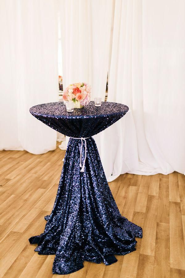 Cheap!!! Mesh Navy Blue Sequin Fabric Tablecloth For Wedding/Event/Party/Banquet/Christmas Decoraitons Blue Tablecloth Black And White Tablecloth From Onlyloveinlife, $17.01| Dhgate.Com