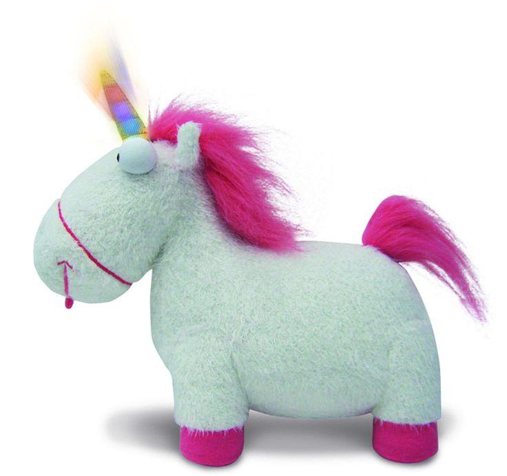 Ich - Einfach Unverbesserlich 2 Plüschfigur mit Sound Unicorn 36 cm
