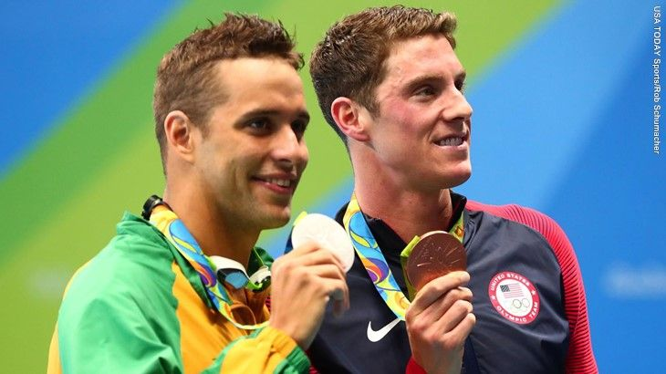 Conor Dwyer 2016 Olympic Bronze Medal