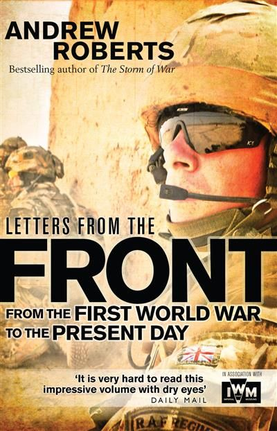 Letters from the Front: From the First World War to the Present Day by Andrew Roberts - ISBN: 9781472808189 (Osprey Publishing) | Parramatta Marist High School | Wheelers ePlatform